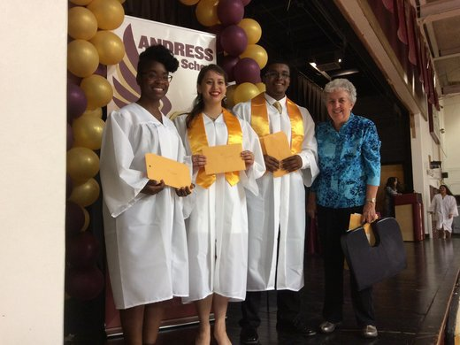 Congratulations to the 2015 Ruth E. Gillett Scholarship recipients from Andress High School.