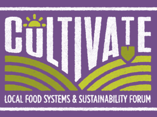 Cultivate: Food Forum October 20
