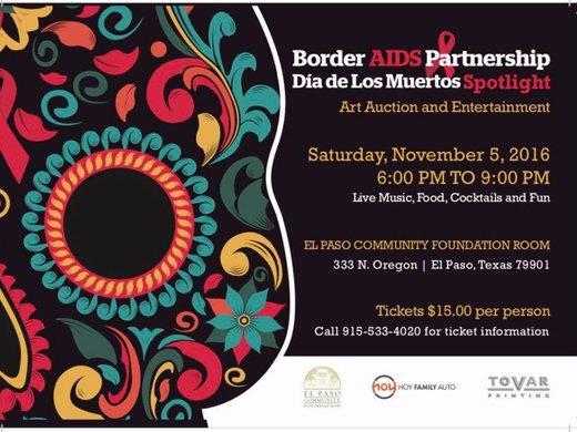 Border AIDS Partnership's Dia de Los Muertos Spotlight
