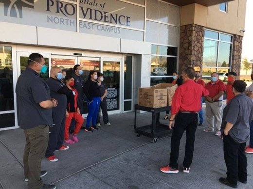 Feed the Frontline, El Paso's support of healthcare, restaurants grows