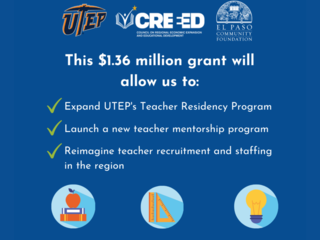 EPCF, CREEED receive $1.36 million grant to improve EP teacher pipeline