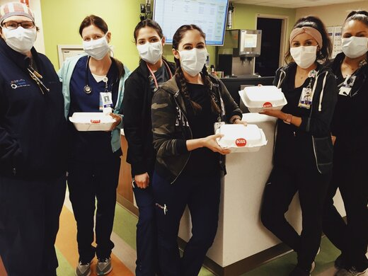 Feed the Frontline, EP to provide 2,400 meals to hospital staff