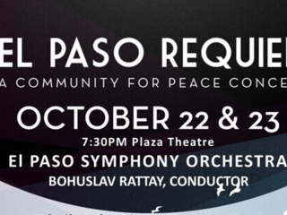 El Paso Requiem: A Community for Peace Concert performed this weekend